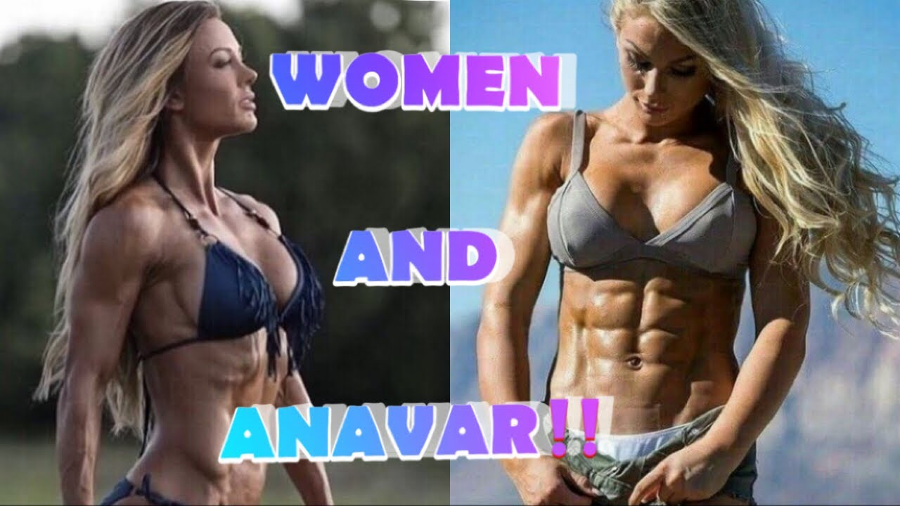 anavar before and after