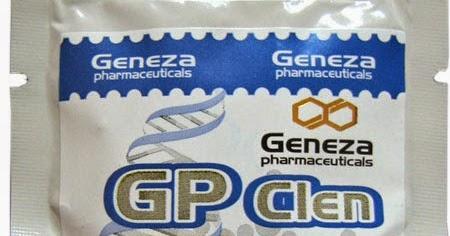 geneza pharmaceuticals clenbuterol
